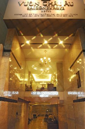 西貢歐洲酒店照片