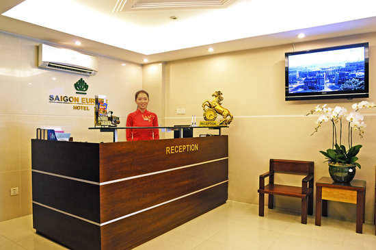 Saigon Europe Hotel: Reception