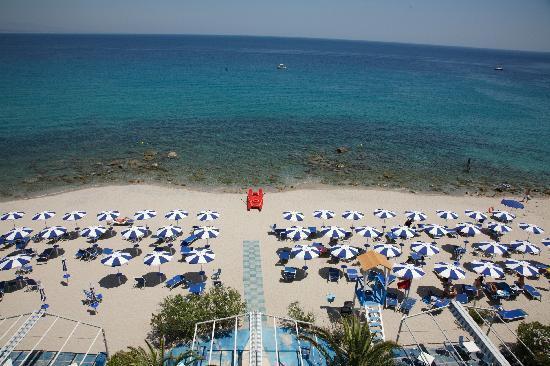 San Domenico Hotel: Spiaggia dell'Hotel San Domenico
