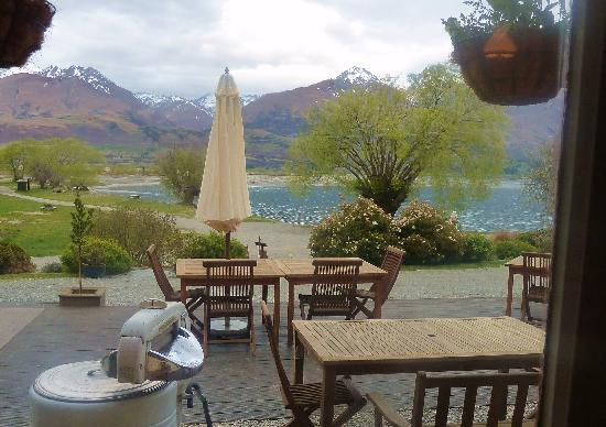 Kinloch Lodge: View from Restaurant