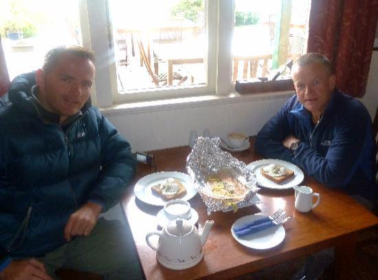 Kinloch Lodge: Caught in lake (by us), cooked by John for breakfast