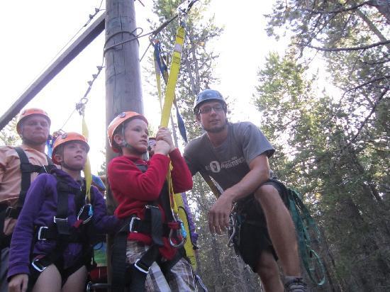 Treeosix Adventure Parks: waiting to zip!