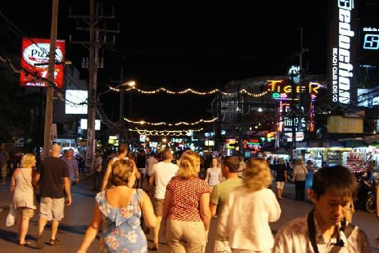 Millennium Resort Patong Phuket: Walking Street - Across From The Hotel