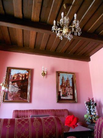 Hotel U Pava: deluxe room