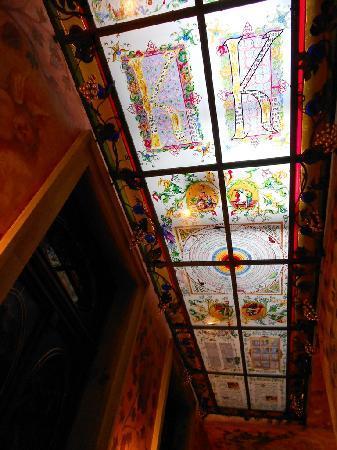 Hotel U Pava: corridor