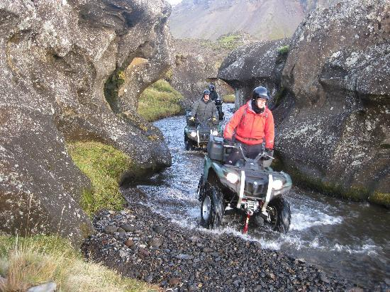 Iceland Travel - Day Tours: Quad biking (ATV) in Iceland