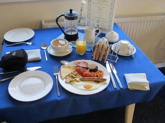 Panorama Guest House: great breakfast