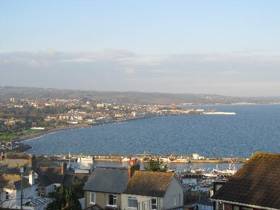 Panorama Guest House: view of Penzance from the Panorama