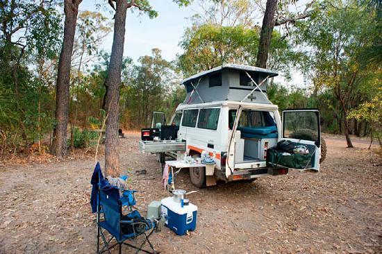 Jabiru, Australië: Merl Campground, Ubirr