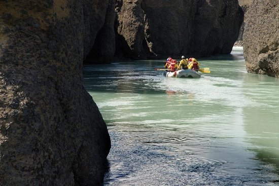 Iceland Travel - Day Tours: River Rafting in Iceland