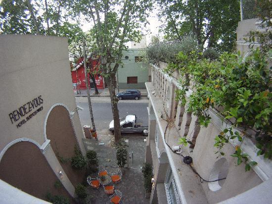 Rendez Vous Hotel Buenos Aires: Vista do quarto 21