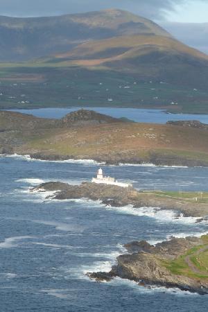 Blasketview House B&B : Der Leuchtturm auf Valentia Island