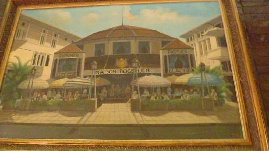 Maison Bogerijen: painting of the still original restaurant