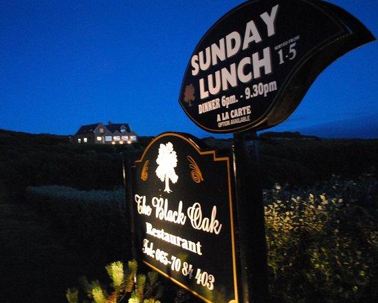 Black Oak Restaurant: view on enterance