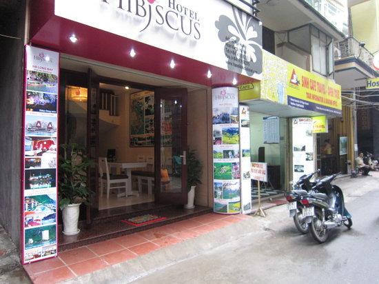 Hanoi Hibiscus Hotel: Entrance