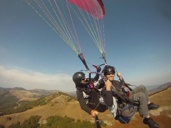 Heli XC Paragliding: macedonia adventure
