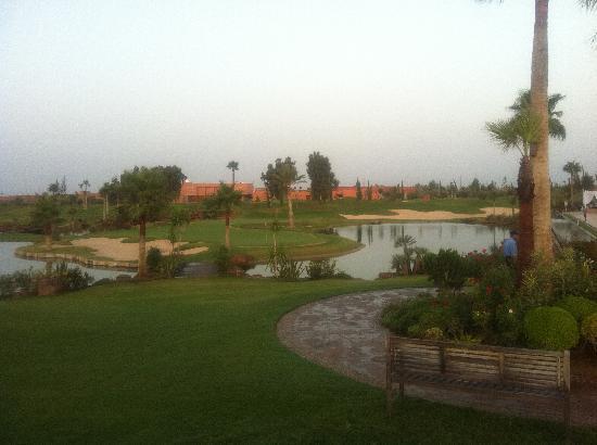 Atlas Golf Marrakech : Vue de la terrasse