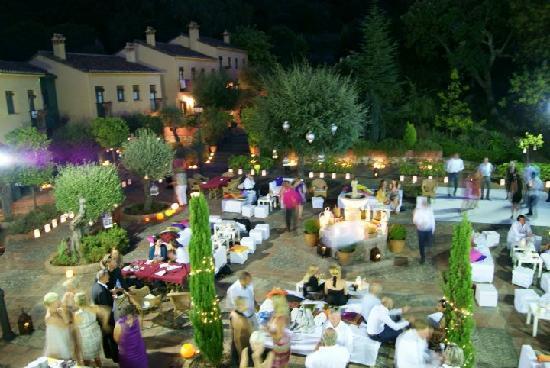 Hacienda La Herriza Hotel: Atmosphere (decor was rented)