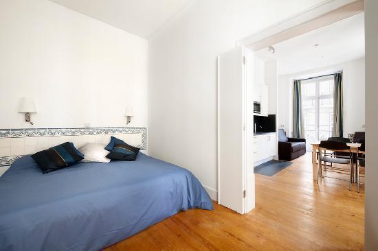 Livinglisboa baixa apartments lisbonne portugal voir for Appart hotel lisbonne