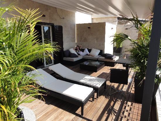 Berg Luxury Hotel: Audrey Suite - Terrace with Jacuzzi