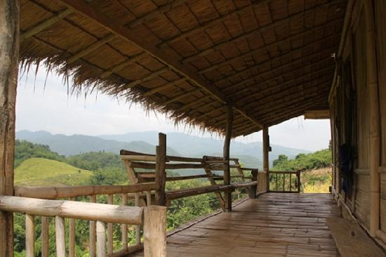 Bamboo Nest de Chiang Rai: View from one of the huts!