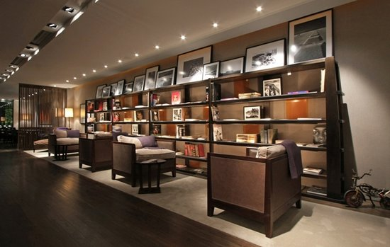 Serena Hotel: Biblioteca Lobby