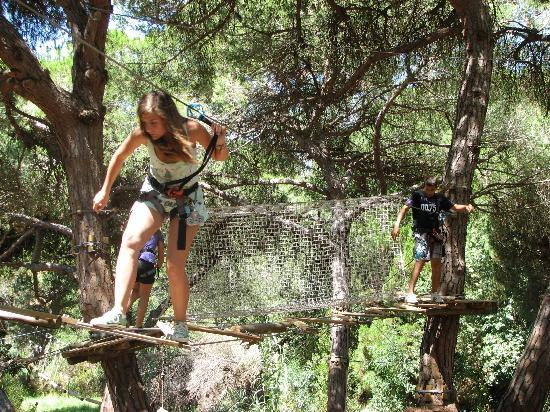 Luso Aventura Albufeira: parque aventura Albufeira