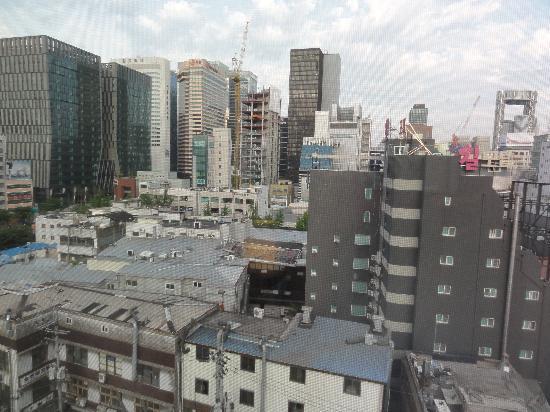 Doulos Hotel: 客室の窓から見えた景色