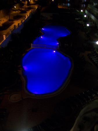 Marola Portosin: View From Balcony At Night