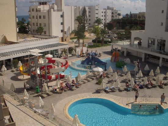 Anastasia Beach Hotel: View of the water Park from room 341