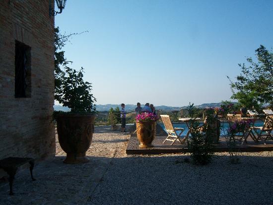 Villa Barocco: het zwembad