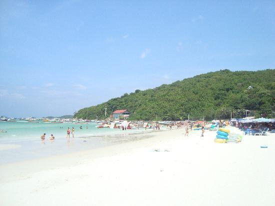 Pattaya, Tajlandia: coral island