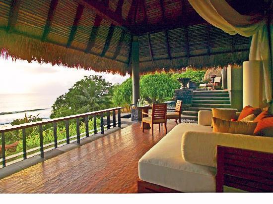 MAIA Luxury Resort & Spa: Outdoor gazebo.