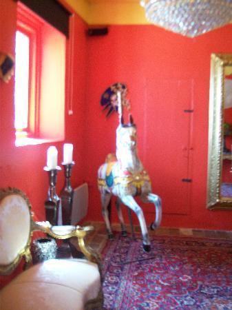 Villa Barocco : de inkomhal