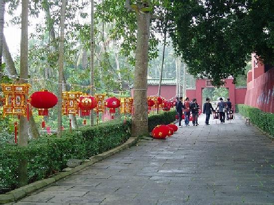 Haikou, China: 五公祠(ウーコンチ)の境内