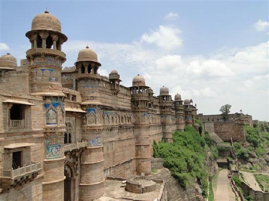 Gwalior Fort: ...das FORT...