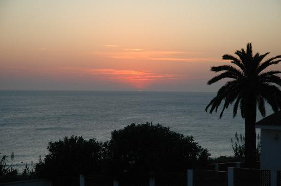 El Roqueo: Sunset from the apartment
