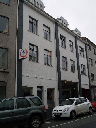 Reykjavik Downtown Hostel: vista dall'esterno