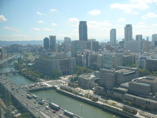 ANA Crowne Plaza Osaka: View