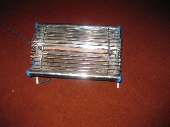 Hotel Mountain Top: So called heater - terrible