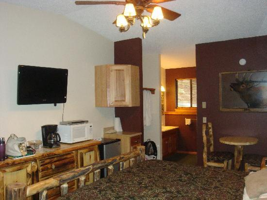 Timber Creek Chalets : inside view