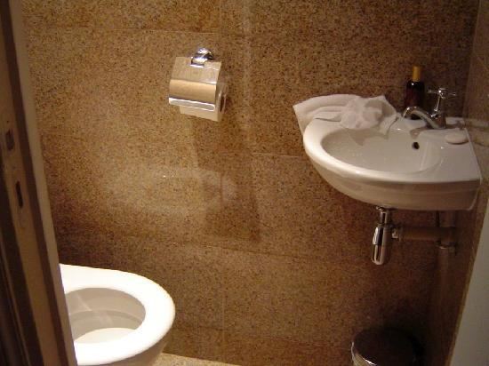 Saint James Albany Hotel-Spa : Teenie toilet - although there was a large washroom in the suite, to be fair. But the toilet - a