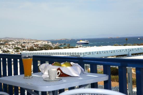 Pyrgaki Hotel: balcony
