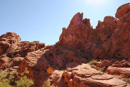 Valley of Fire State Park: Valley of Fire bump