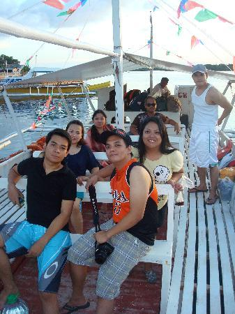 Palompon, Philippines: boat ride