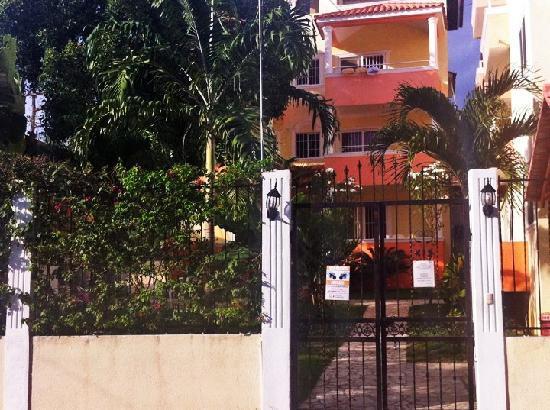 Parco del Caribe: Tor und Hauptgebäude