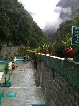 Hot Springs (Aguas Calientes): Aguas Calientes - hot springs