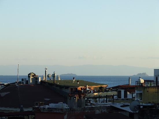 Villa Pasha Hotel: View from Balcony