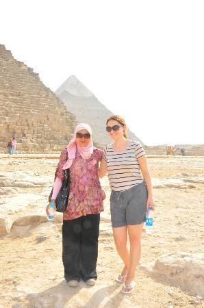 Egypt Queen  Day  Tours: Our lovely guide Amina!