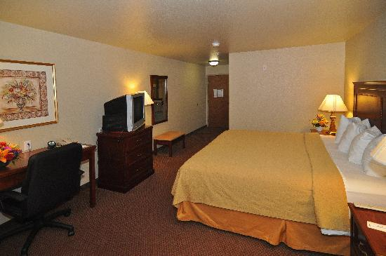 Quality Inn & Suites: Non-Smoking King Suite